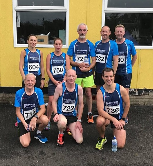 Ballymena Runners gather before the Tannaghmore 5k & 10k