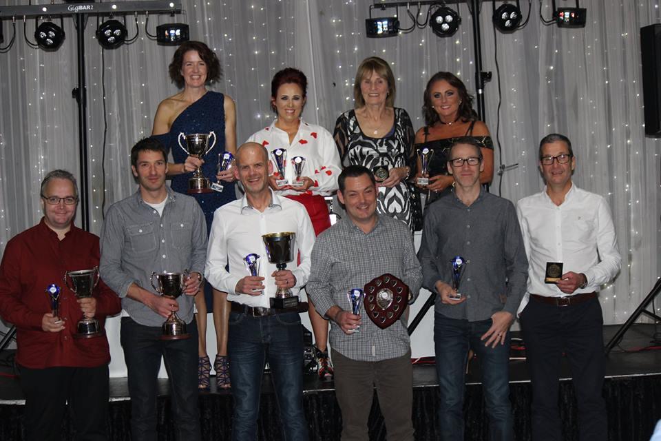 Ballymena Runners awards dinner winners