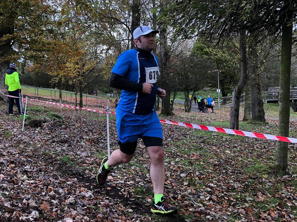 Robert Meban in McConnell Shield cross country action