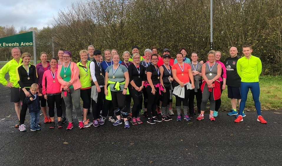Kells Cosy Sofa to 5k graduates complete their charity run at Ecos on Saturday morning