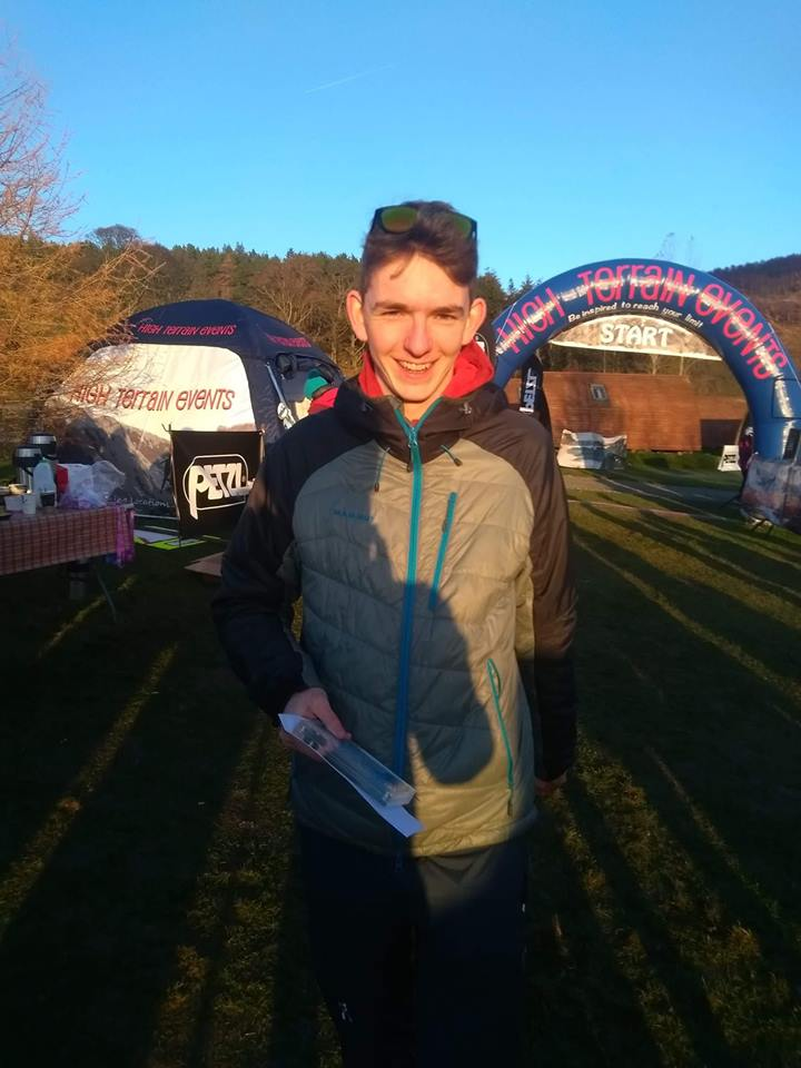 Jack McKenna finished third in the Tweed Valley Ultra