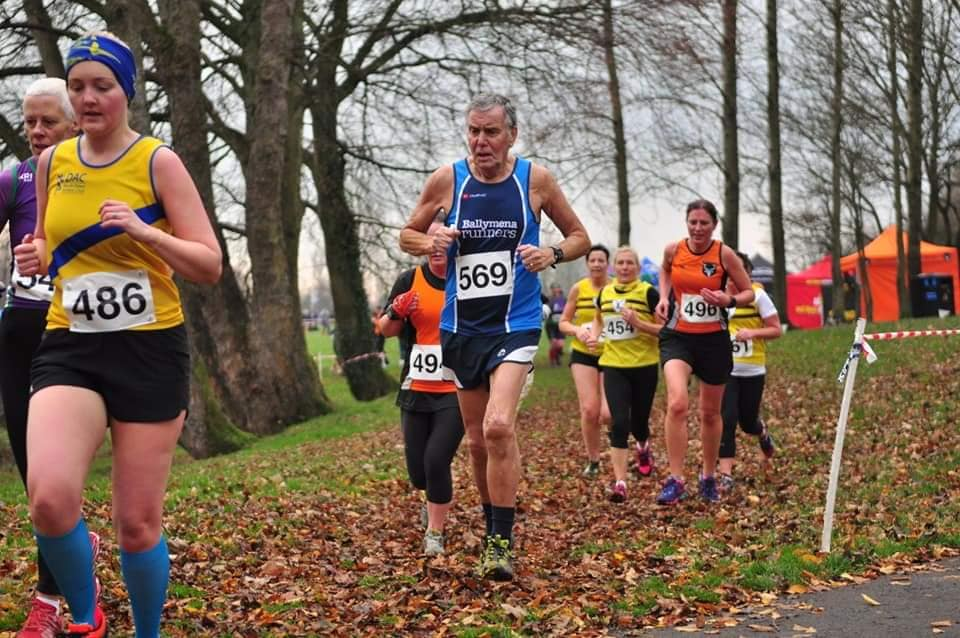 James Galbraith in Malcolm Cup XC action