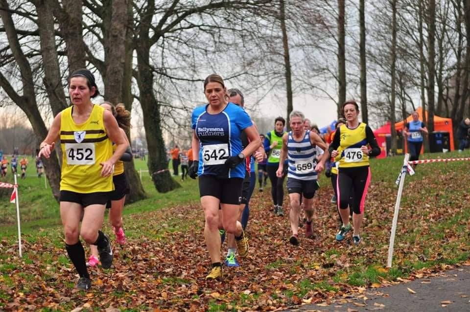 Shelley Tomlins in Malcolm Cup XC action