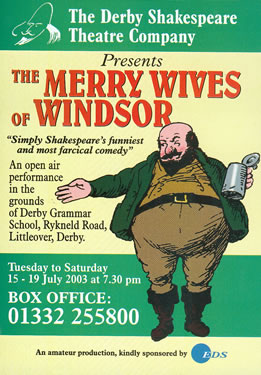 'The Merry Wives Of Windsor' 2003