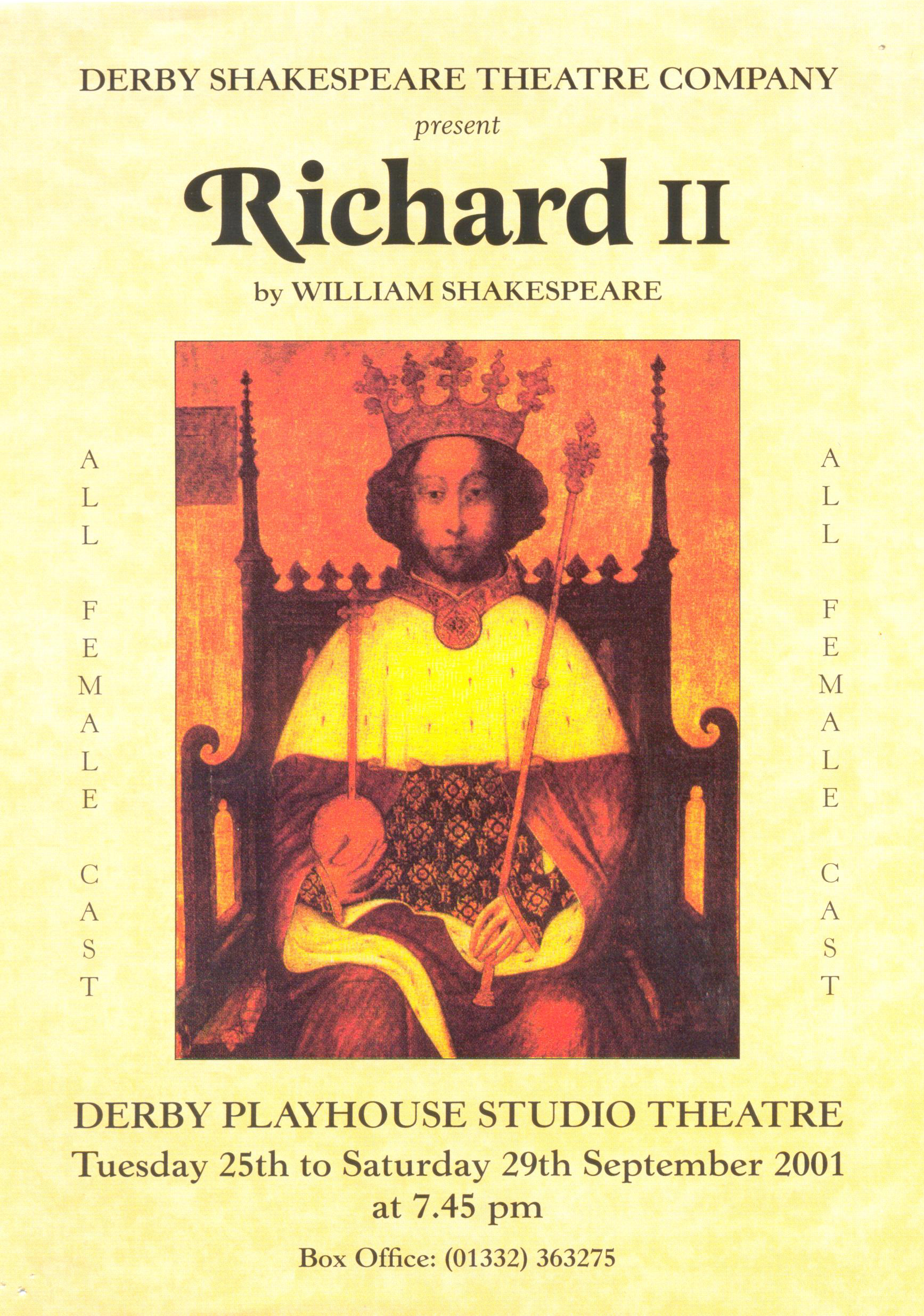 'Richard II' 2001