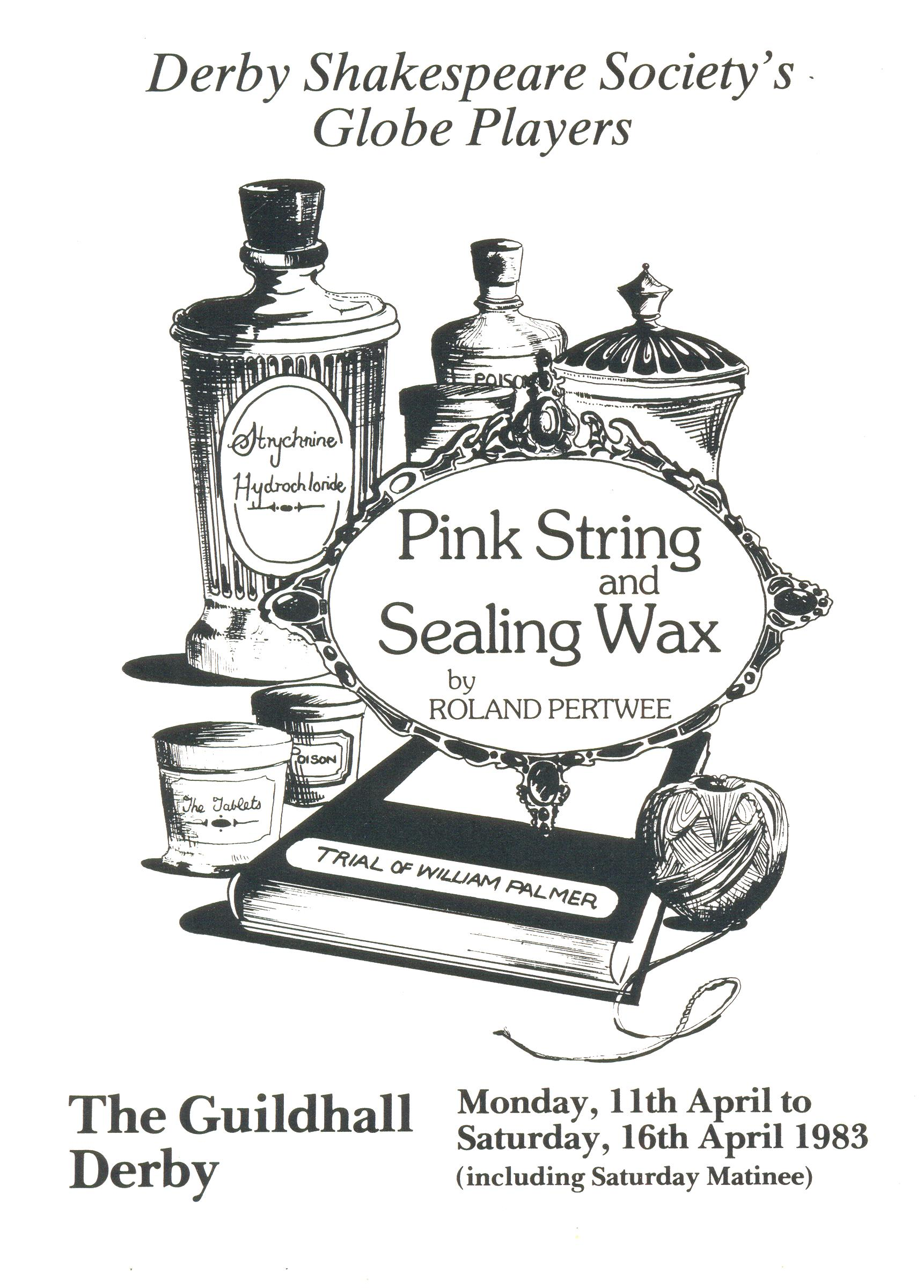 'Pink String & Sealing Wax' 1983
