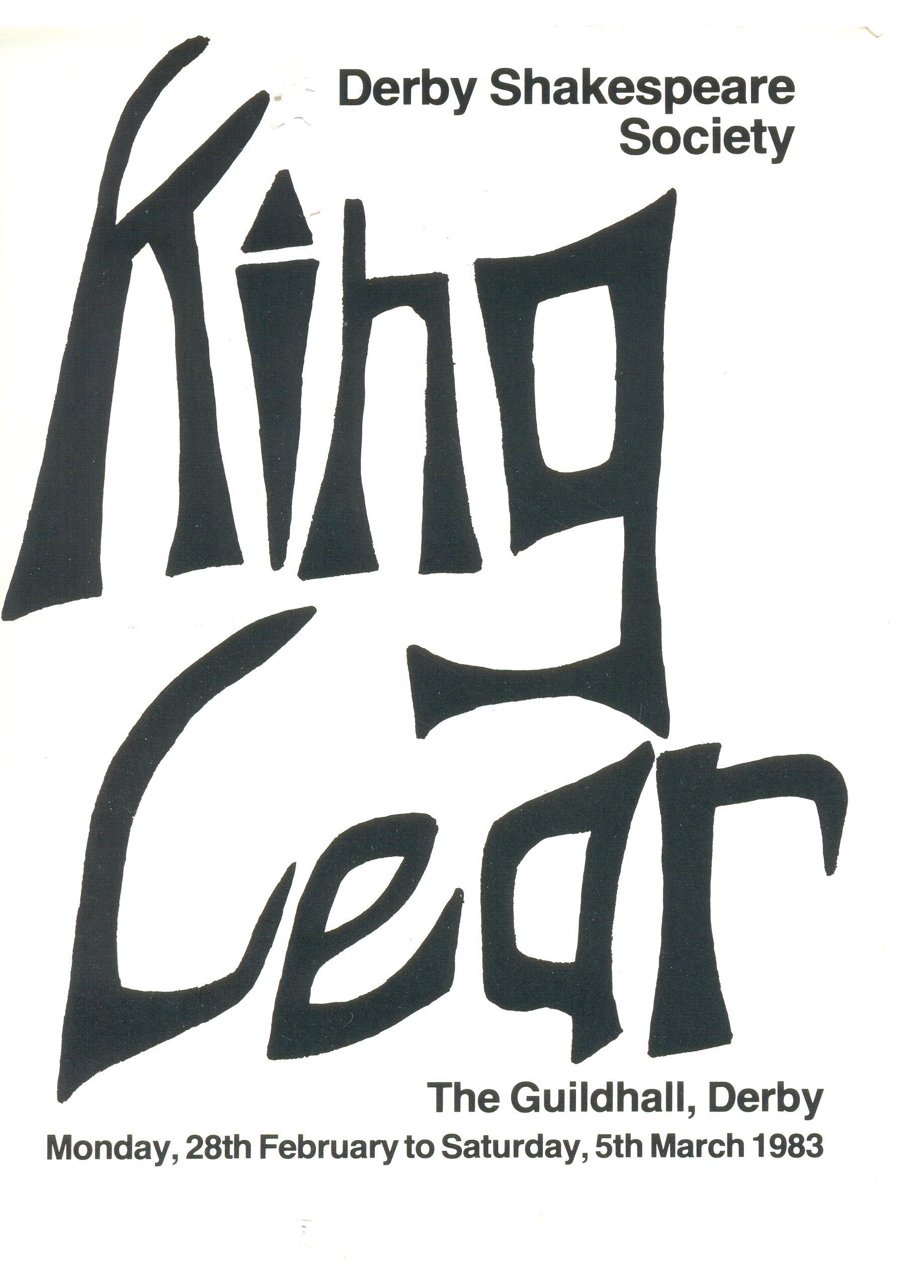 'King Lear' 1983