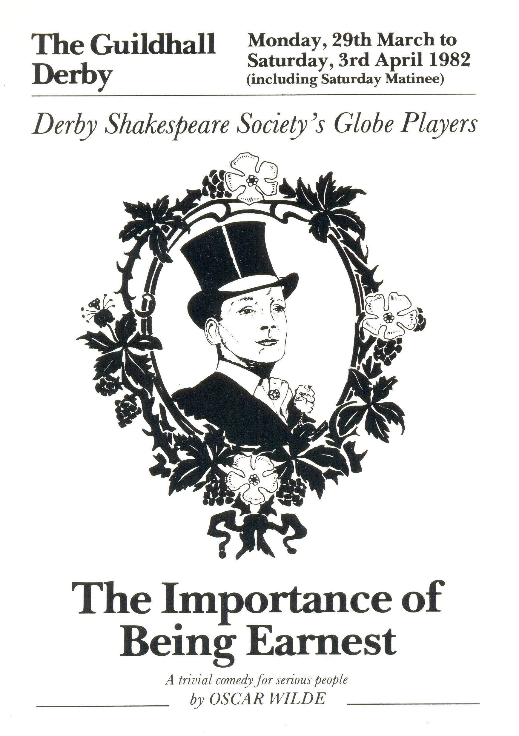 'The Importance Of Being Earnest' 1982