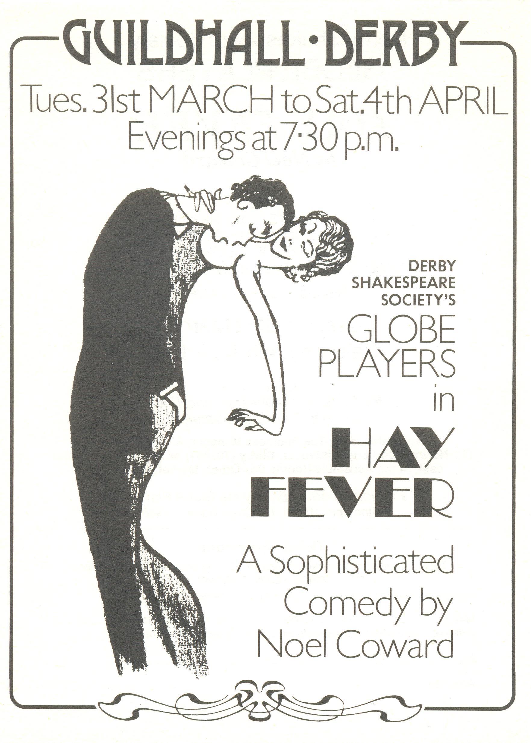 'Hay Fever' 1981