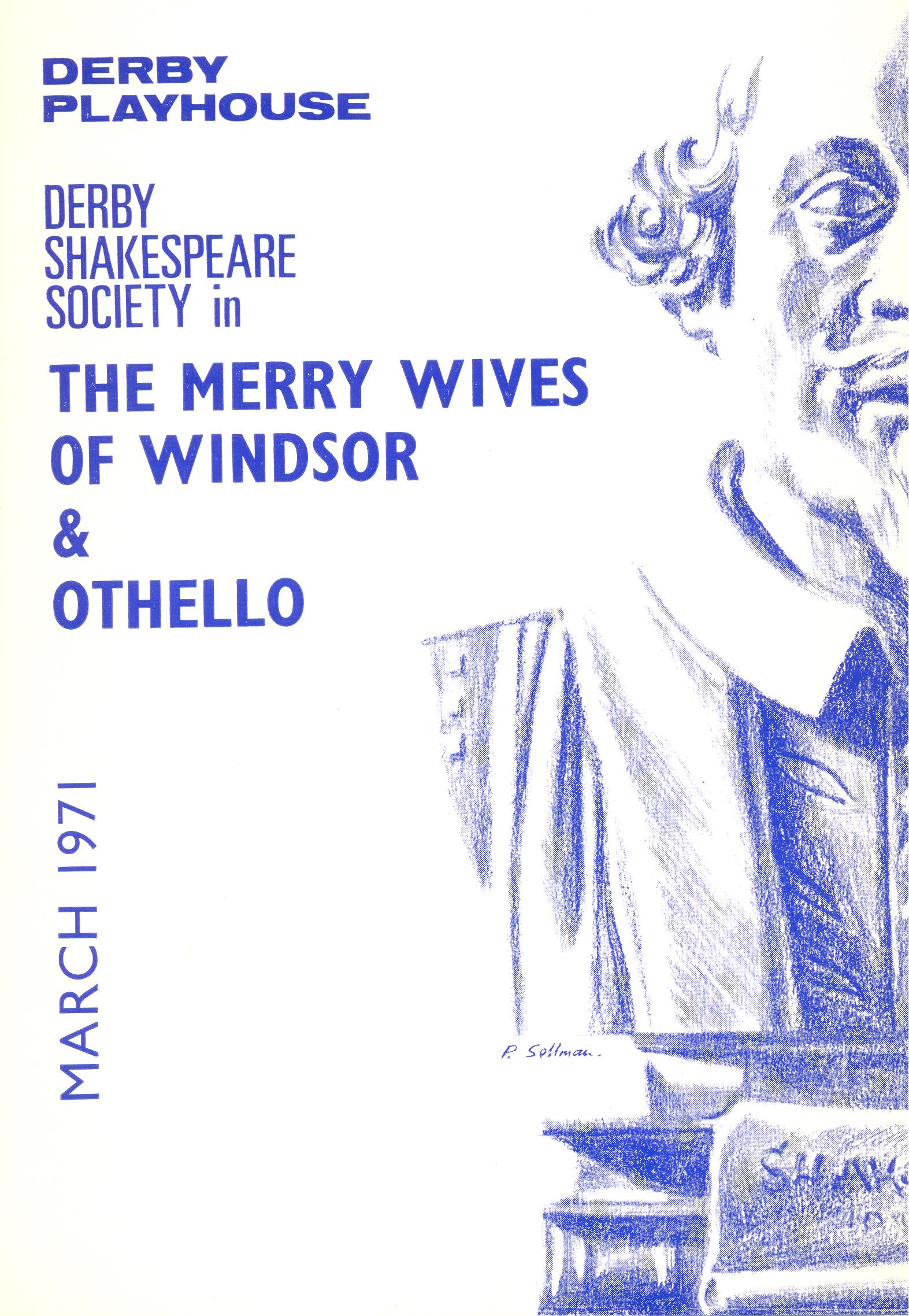 'The Merry Wives Of Windsor' & 'Othello' 1971
