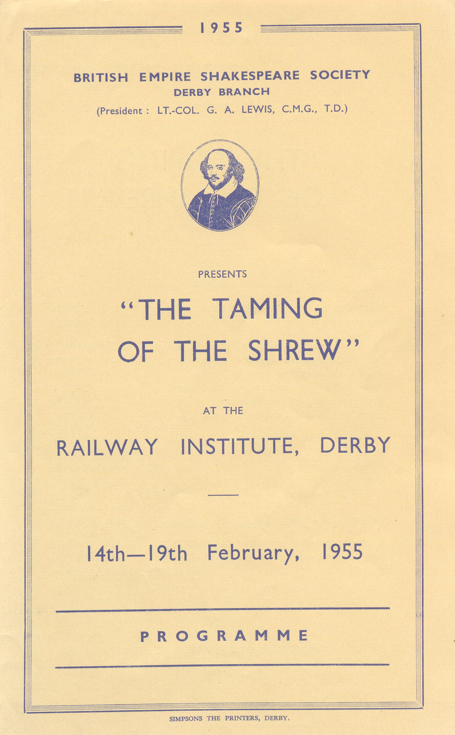 'The Taming Of The Shrew' 1955