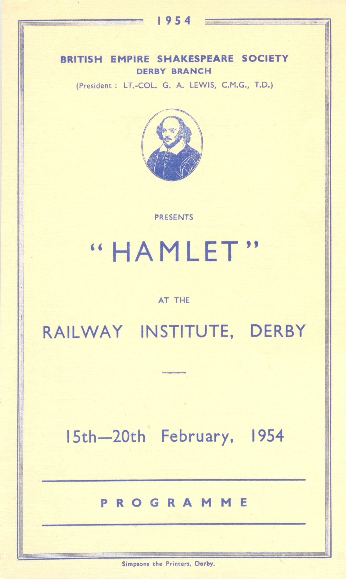 'Hamlet' 1954