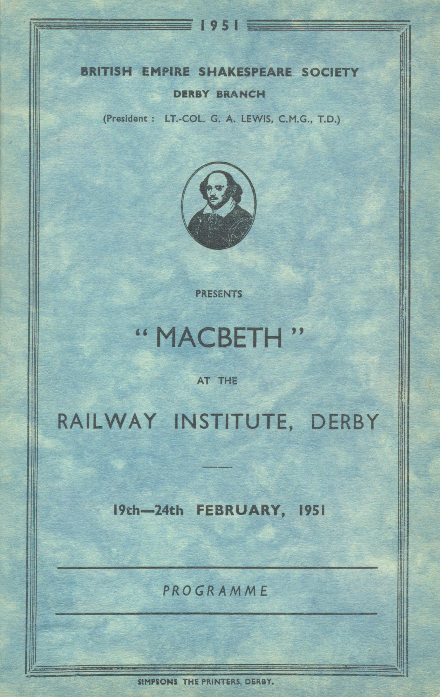 'Macbeth' 1951