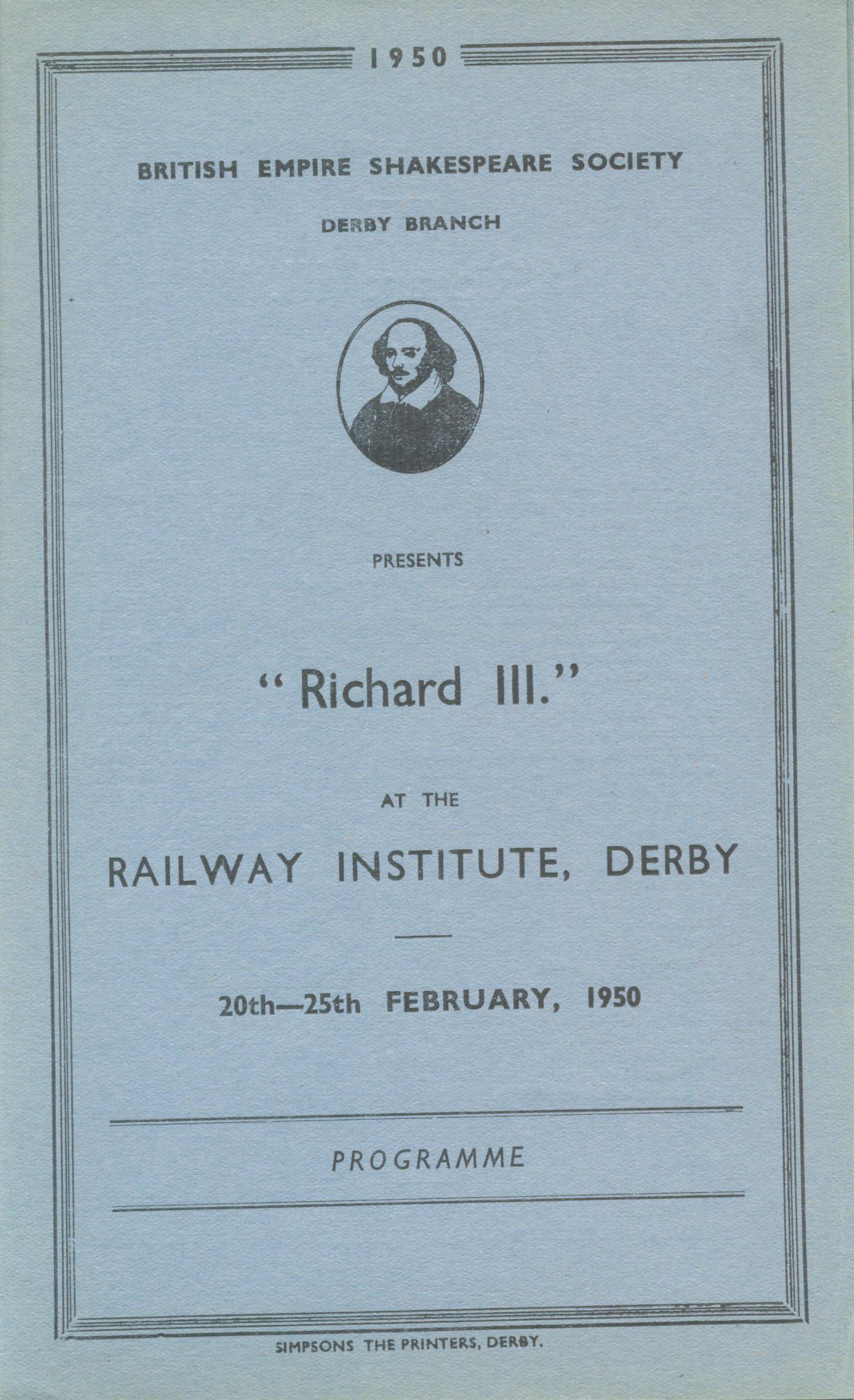 'Richard III' 1950