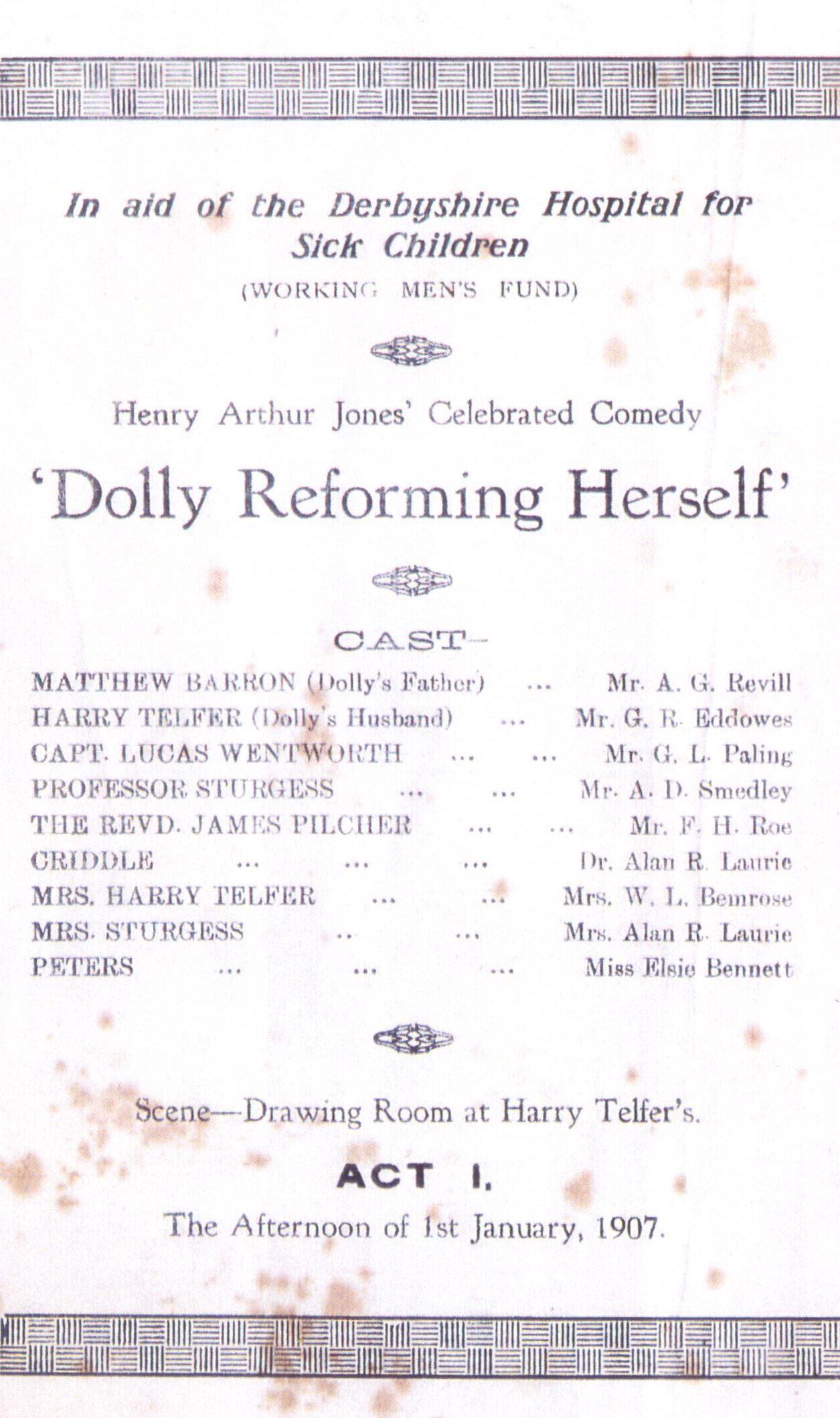 'Dolly Reforming Herself' 1924