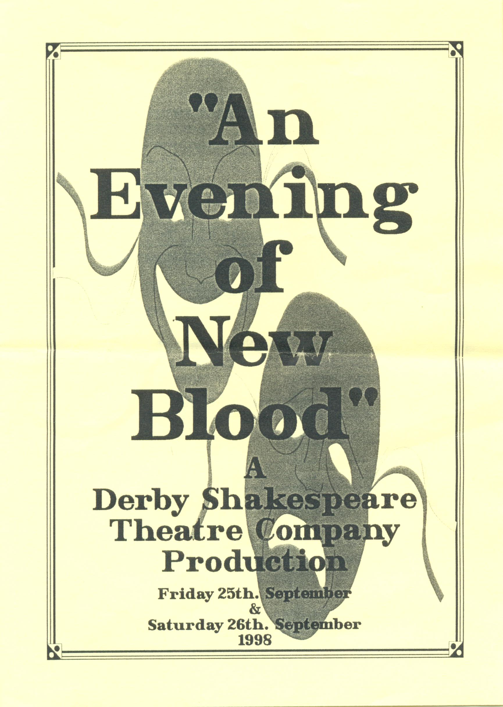 'An Evening Of New Blood' 1998
