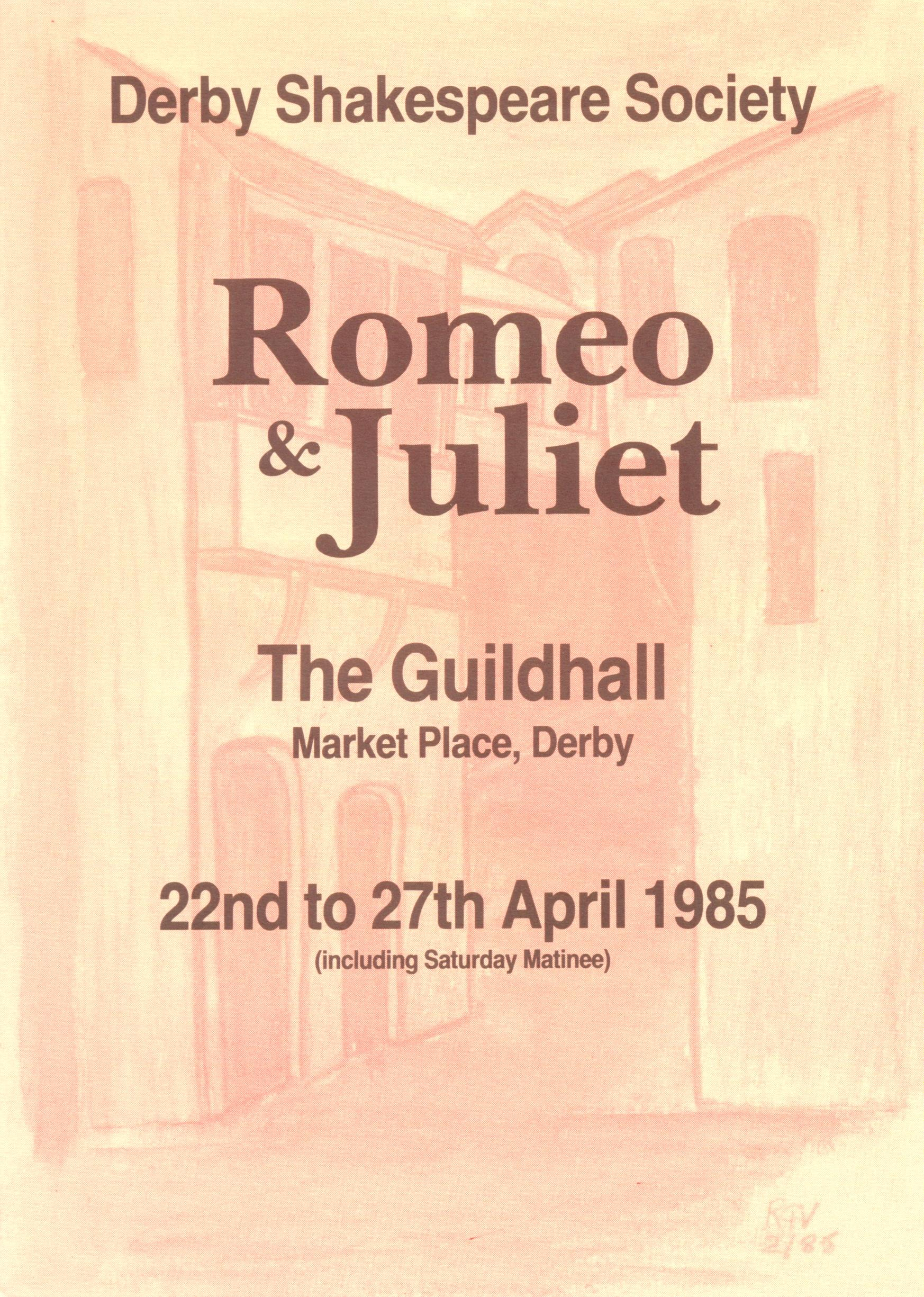 'Romeo & Juliet' 1985