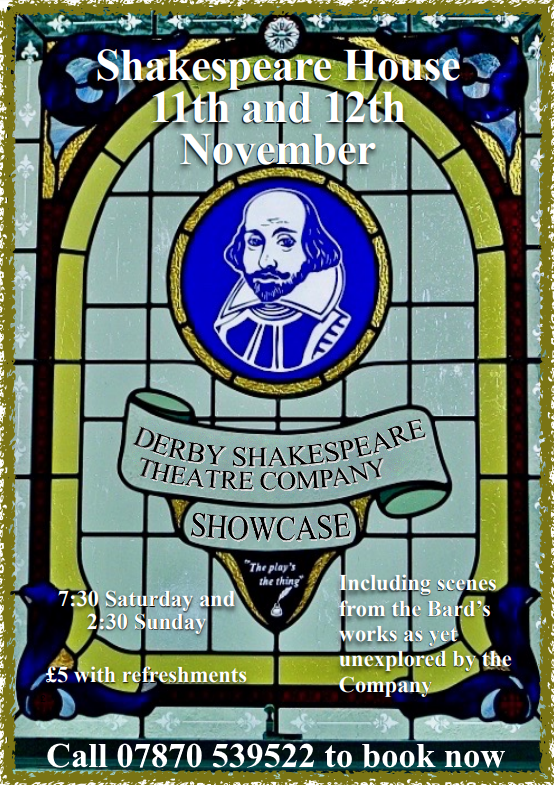 'Shakespeare Showcase' 2017