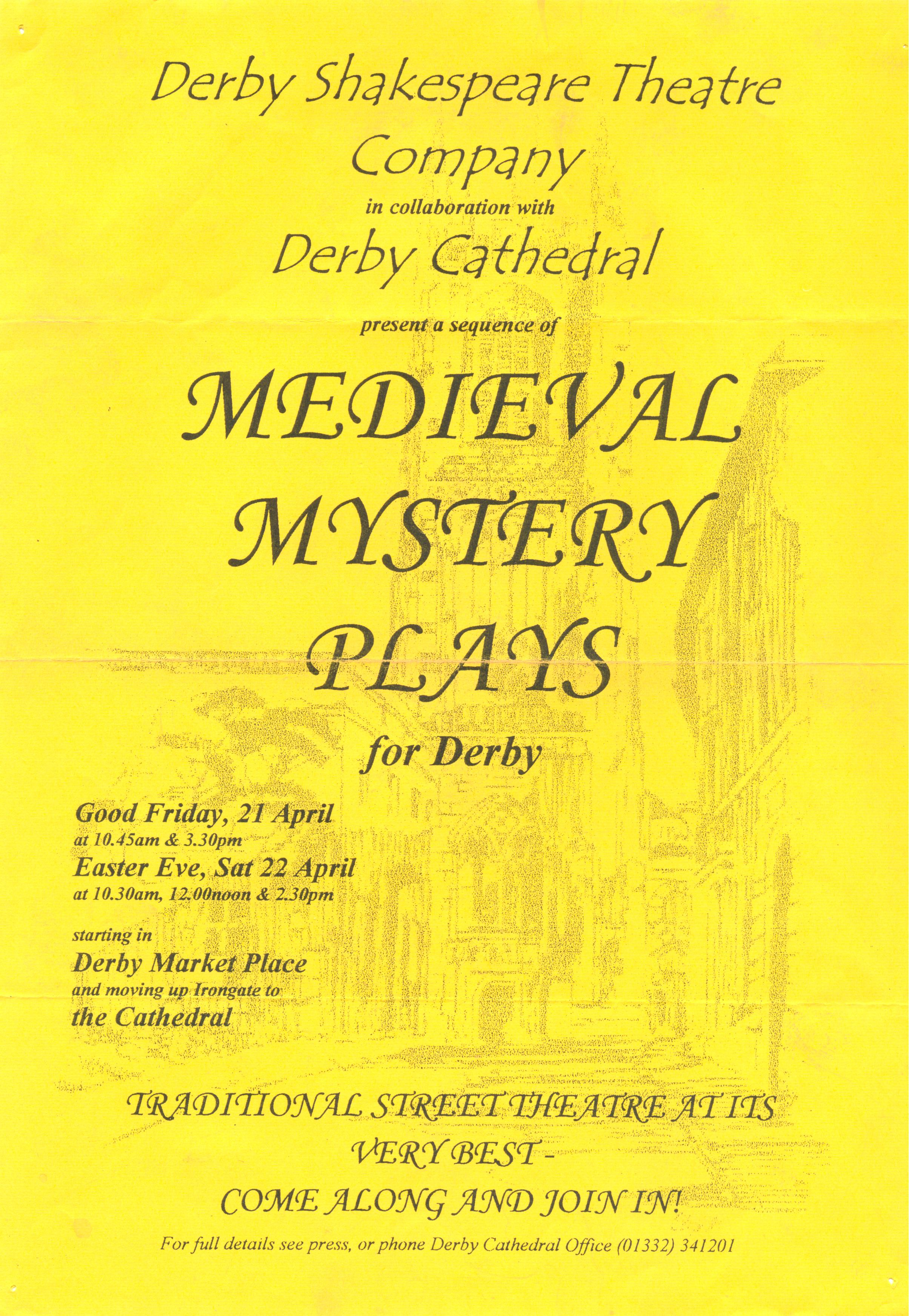 ;Medieval Mystery Plays' 2000