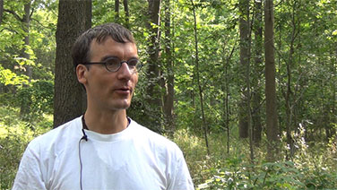 I gave my interview in the beautiful Dundas EcoPark