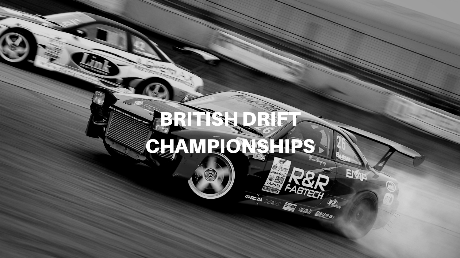 British Drift Championships - A new live broadcast for a classic British motorsport series