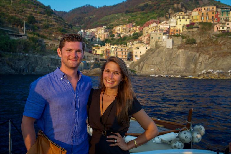 Romantic boat tours in Cinque Terre