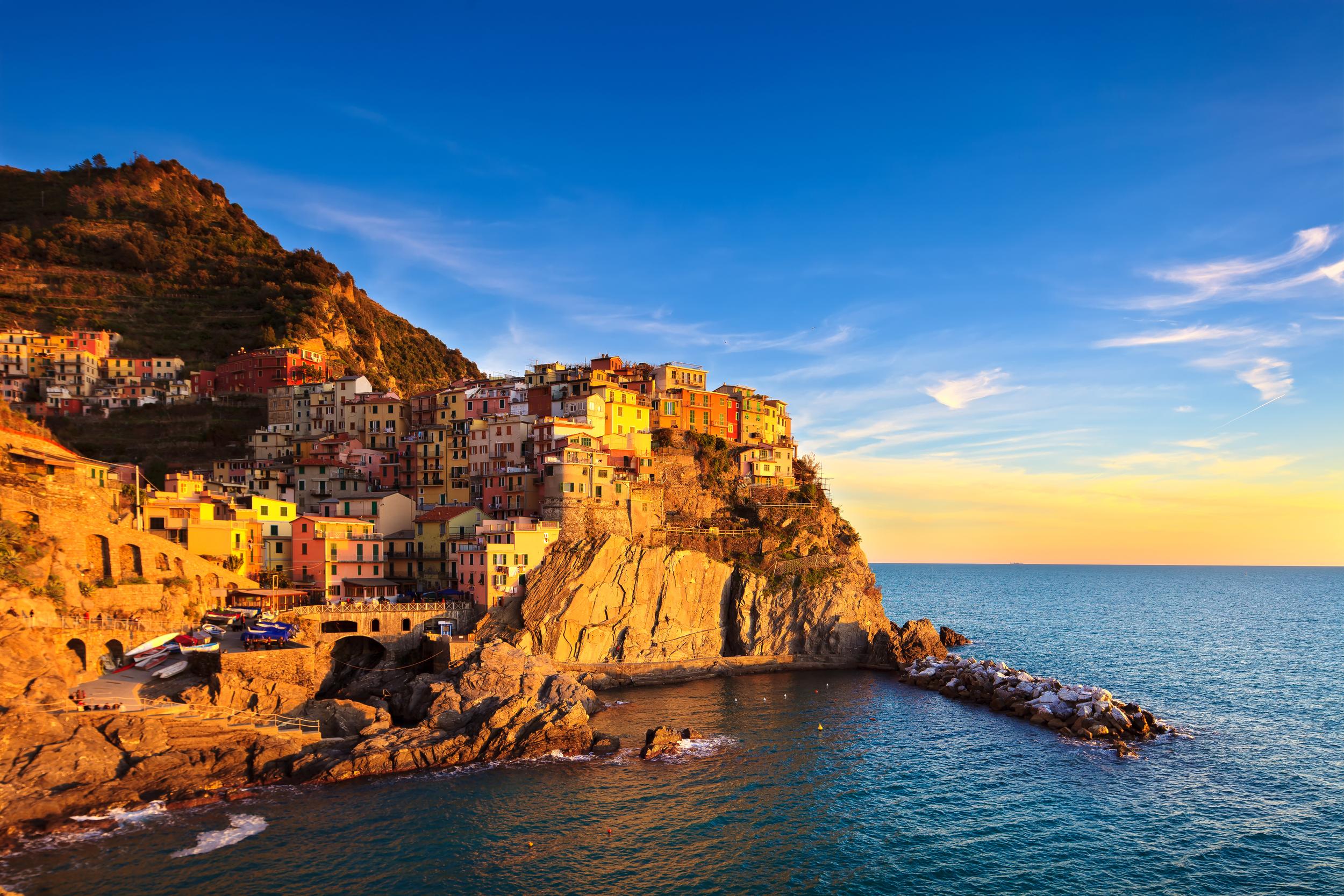 Boat excursions in Cinque Terre