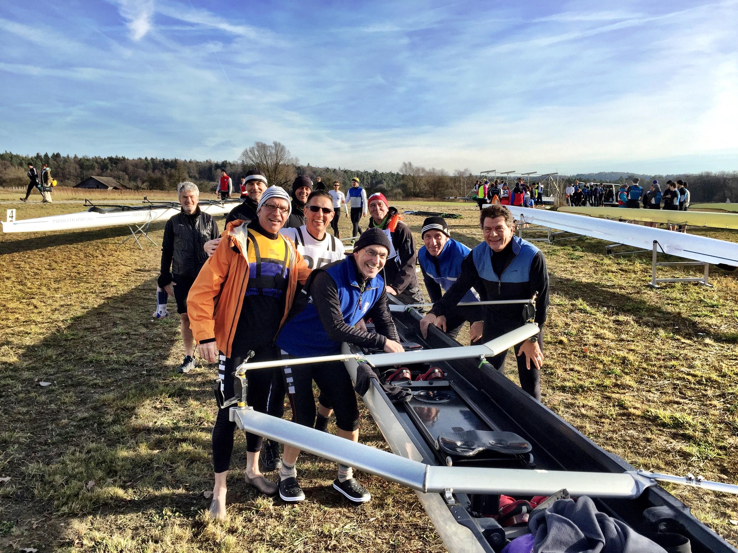 Im Dezember 2015 konnten wir an der Regatta in Eglisau eine gute Zeit über 11,4km einfahren. Auf die Zeit von 39:04 min. sind wir erstmal stolz und bleiben dran!