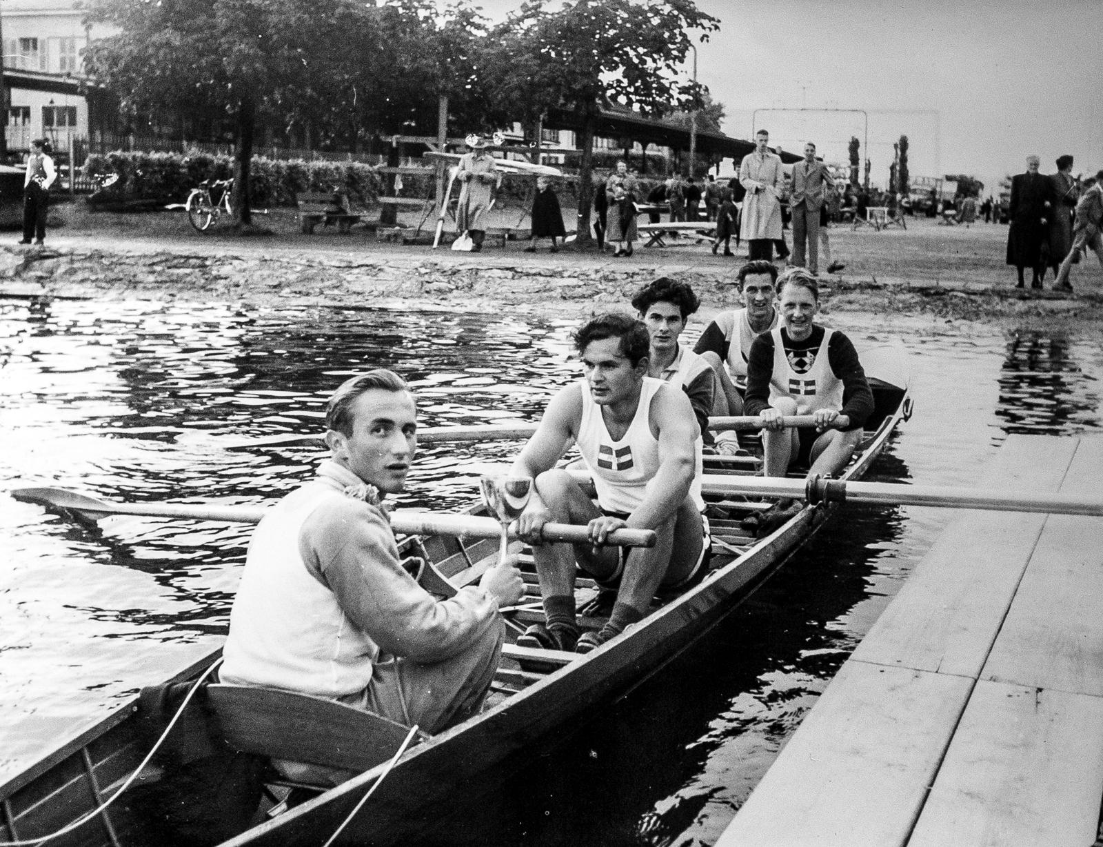 Der erste Sieg: Die glücklichen Sieger, ROZ Regatta, Mai 1953
