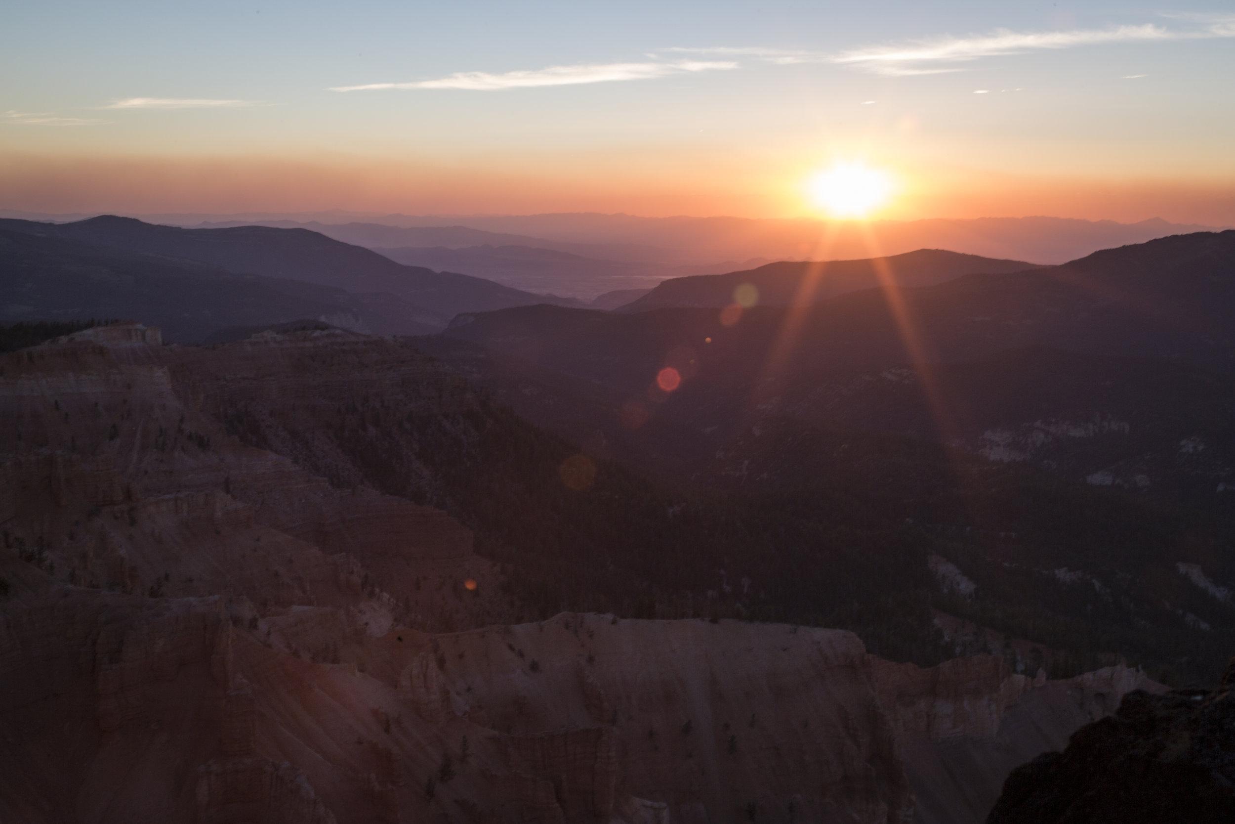 Sunset - Cedar Breaks