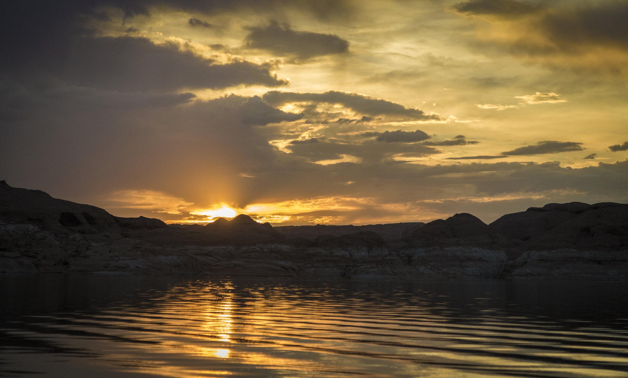 Sunset - Lake Powell