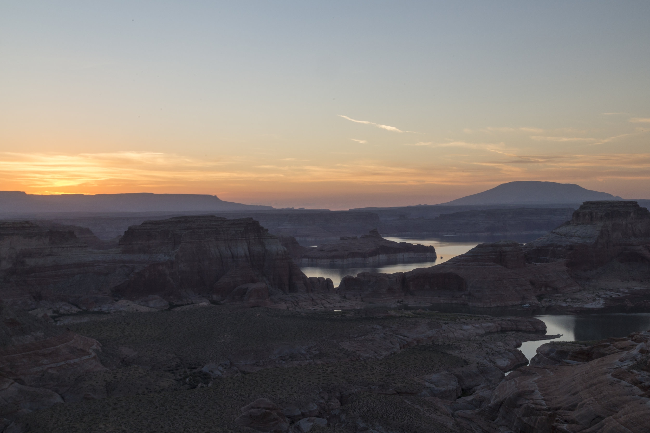 Sunrise - Glen Canyon