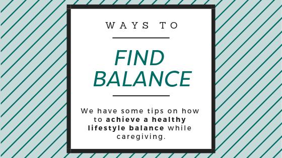 ways to find balance