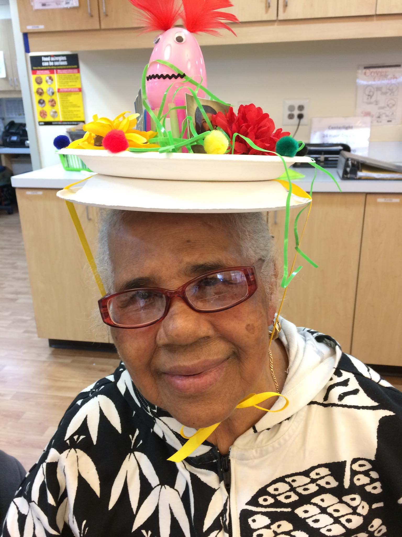 Lady with Easter hat