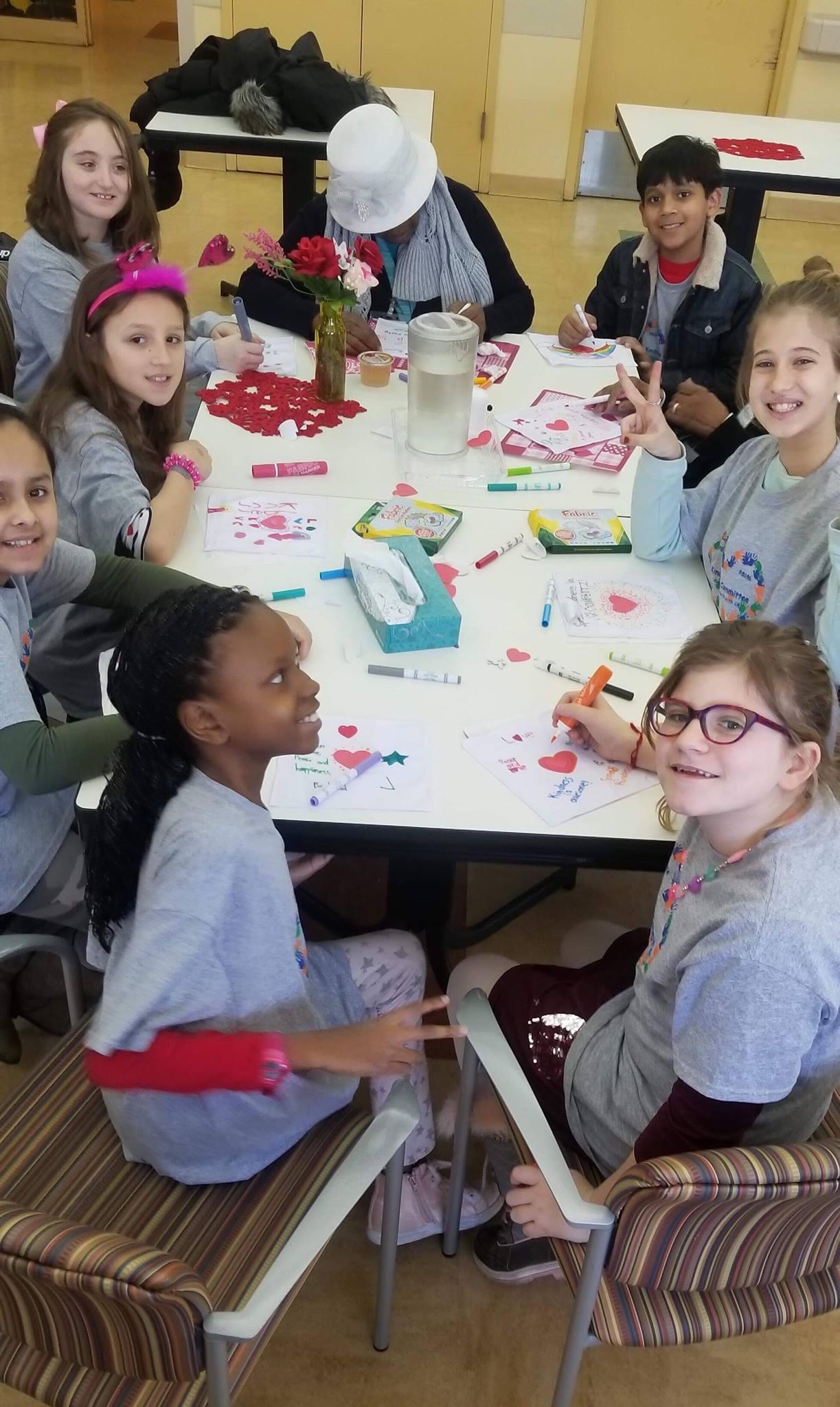 children and participants