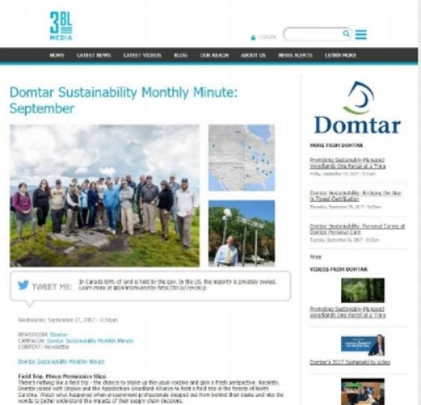 DomtarSeptMonthlyMin_featuresfieldtrip_092717.JPG