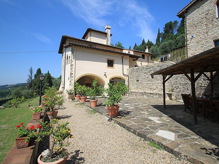 Monteloro villa, Tuscany, Italy