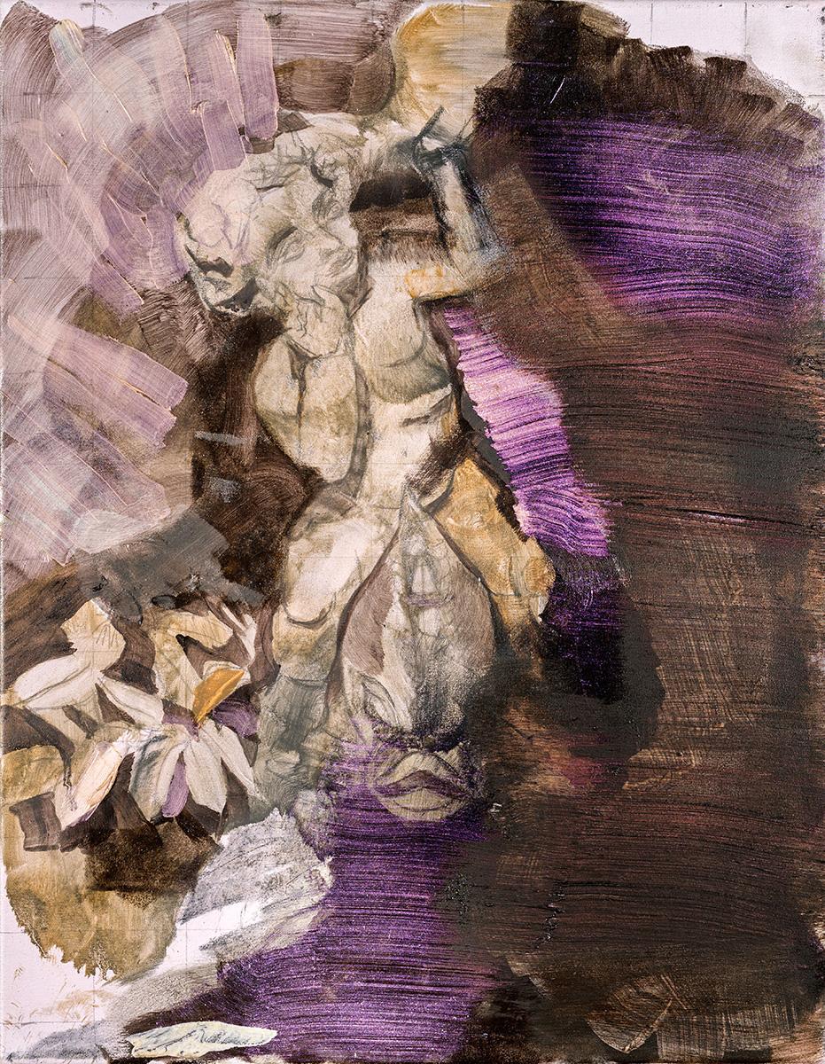 'Invictus' 46 x 36 cm