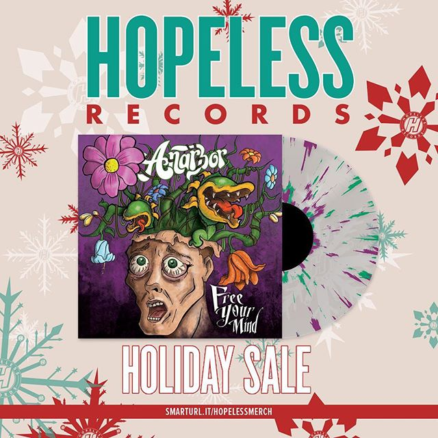 Free Your Mind is now available on VINYL via @hopelessrecords at http://smarturl.it/hopelessmerch