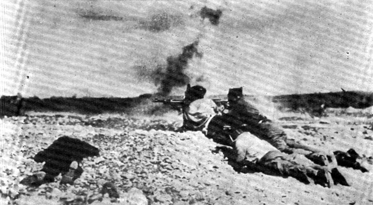 Yugoslav volunteers fighting in Spain, 1937.