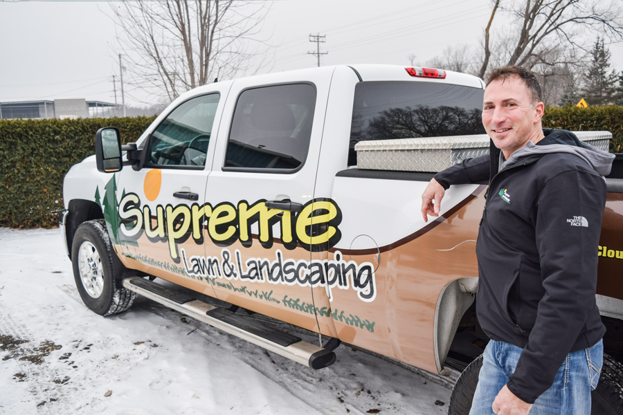 Brian Lahr, Co-Owner - Brian Lahr started Supreme Lawn & Landscaping back in 1990. He worked in the grounds maintenance and landscape construction industry for four years prior to starting his own company. He took on a general partner in Tod Welsh in 1992. The two have helped provide grounds maintenance, snow removal and landscape construction in Central Minnesota ever since. Supreme Lawn & Landscaping is one of the oldest grounds maintenance providers in the St. Cloud metro area.