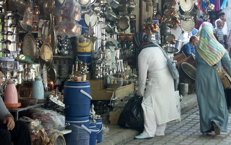 Shopping in Urfa