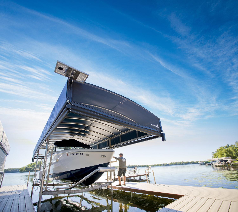 Boat Lifts — ROCK of WNY | Dock, Lift & Shoreline Restoration