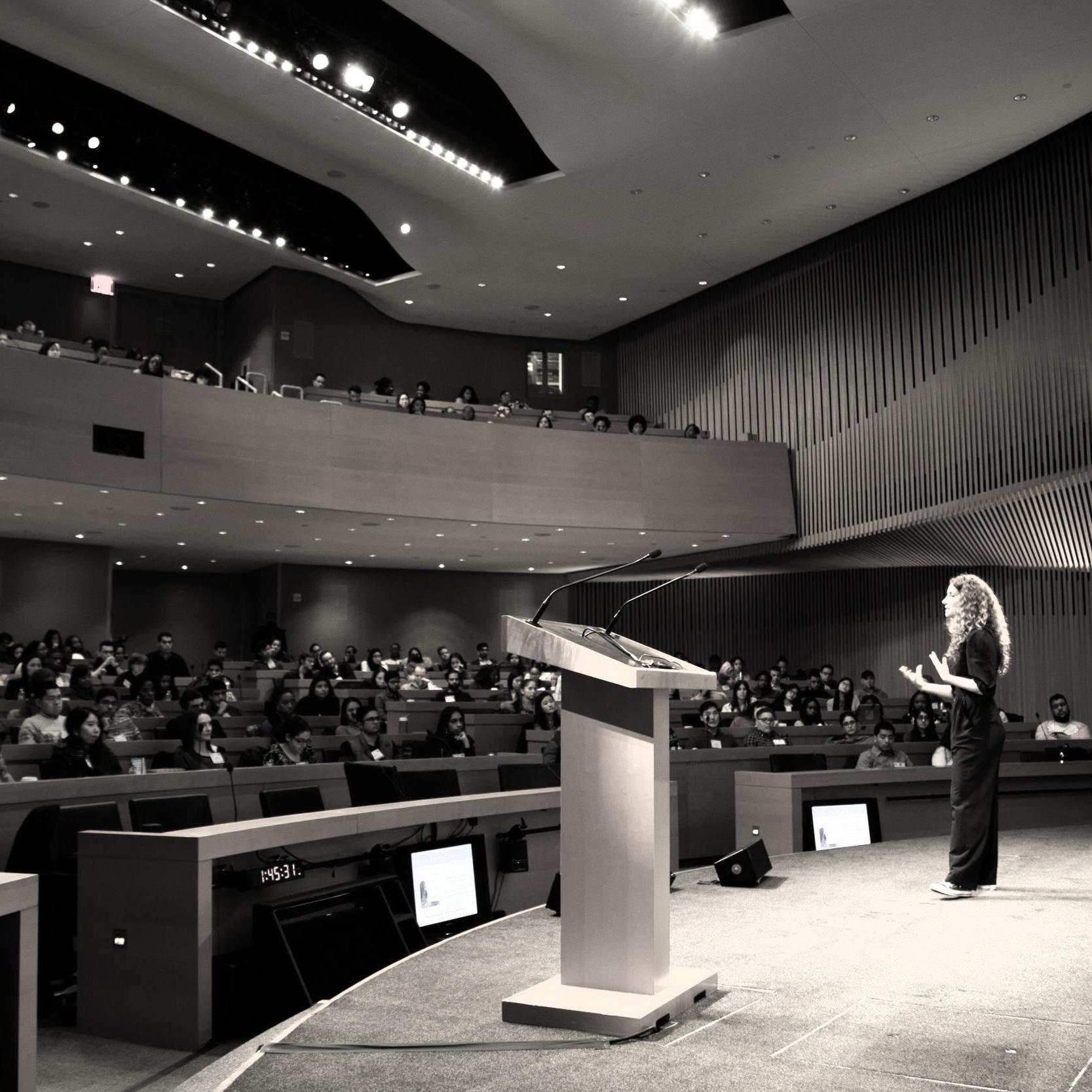 Lisa Rachel Snyder, Public Speaking  - Photo by Jackson You