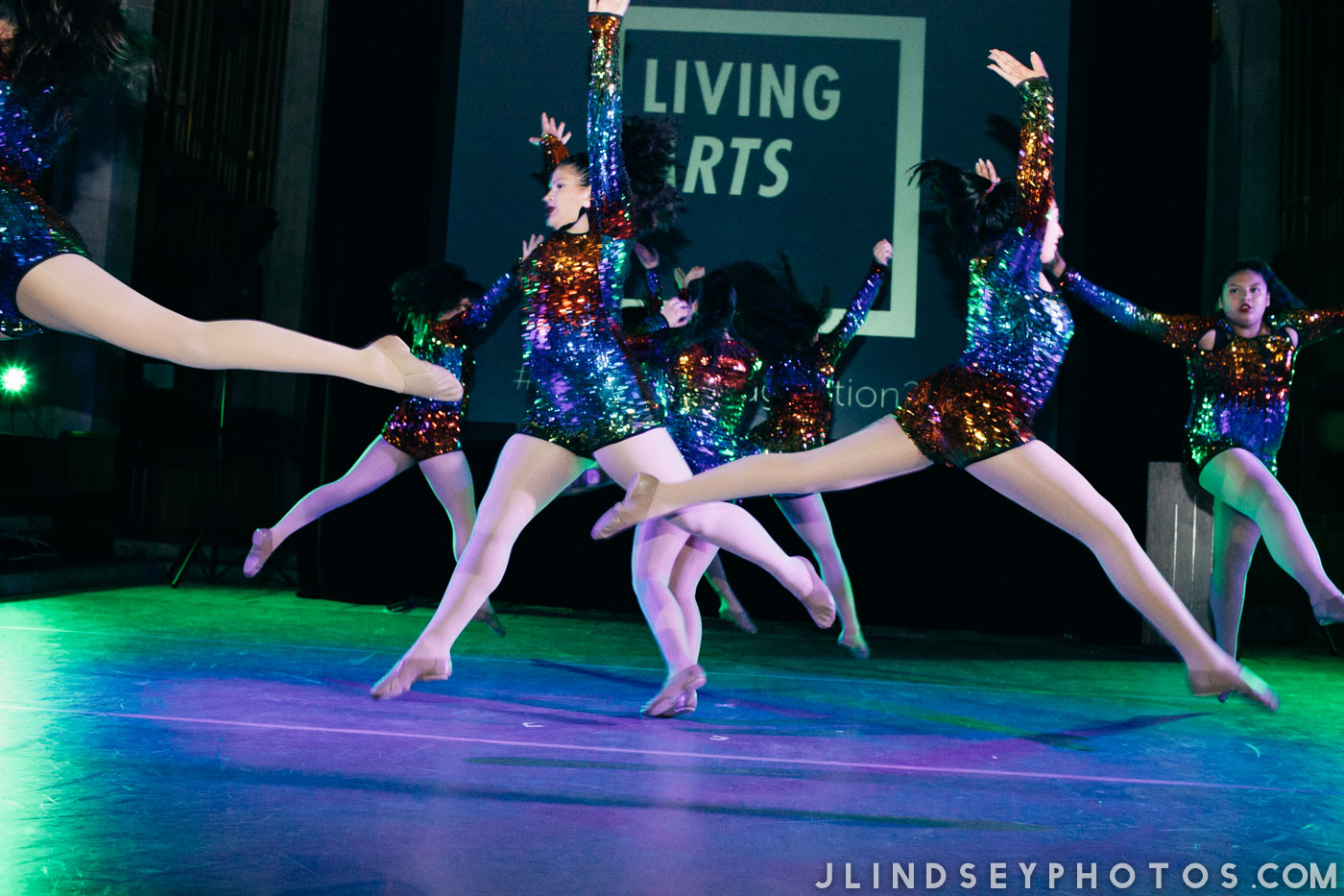 Living Arts' Dance Collage performs at Spark the Imagination 2017. Photo by Julianne Lindsey