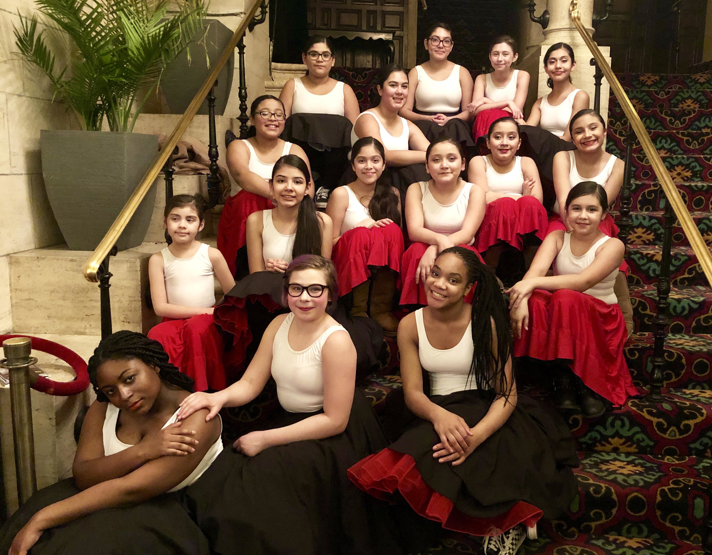The Living Arts Youth Dance Ensemble