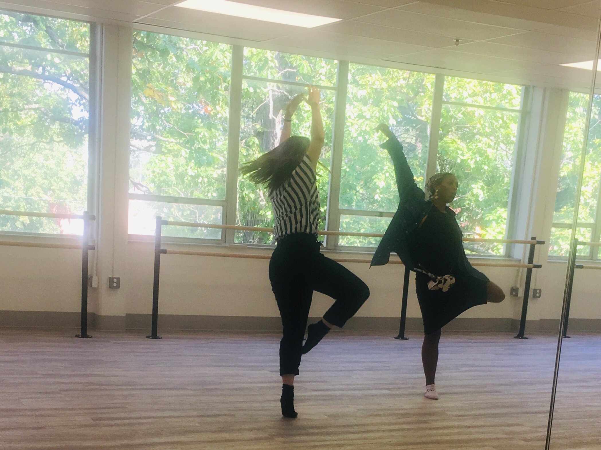 Teaching Artists Maddy Rager and Morgan Hutson will lead creative movement and drama classes after school four days a week at the Northwest Activities Center.