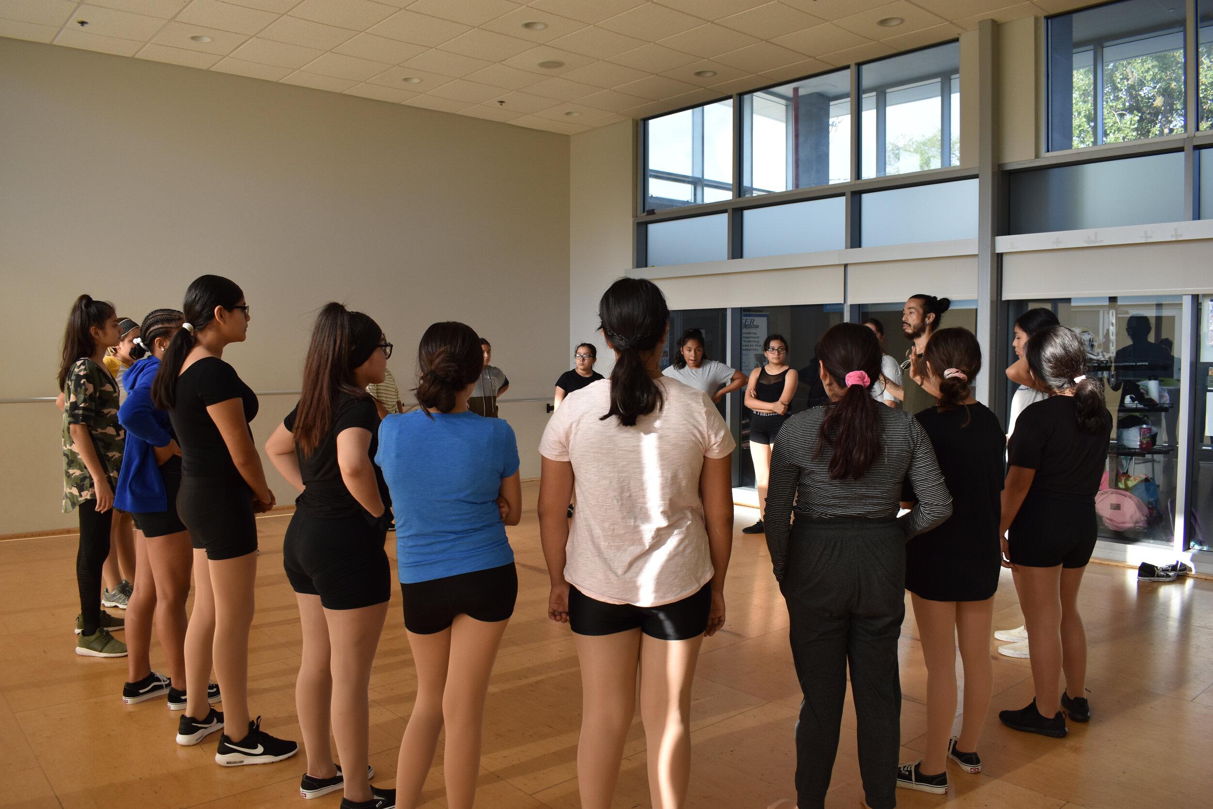 Street dance intensive led by Teaching Artist Daijiro Tsujima.
