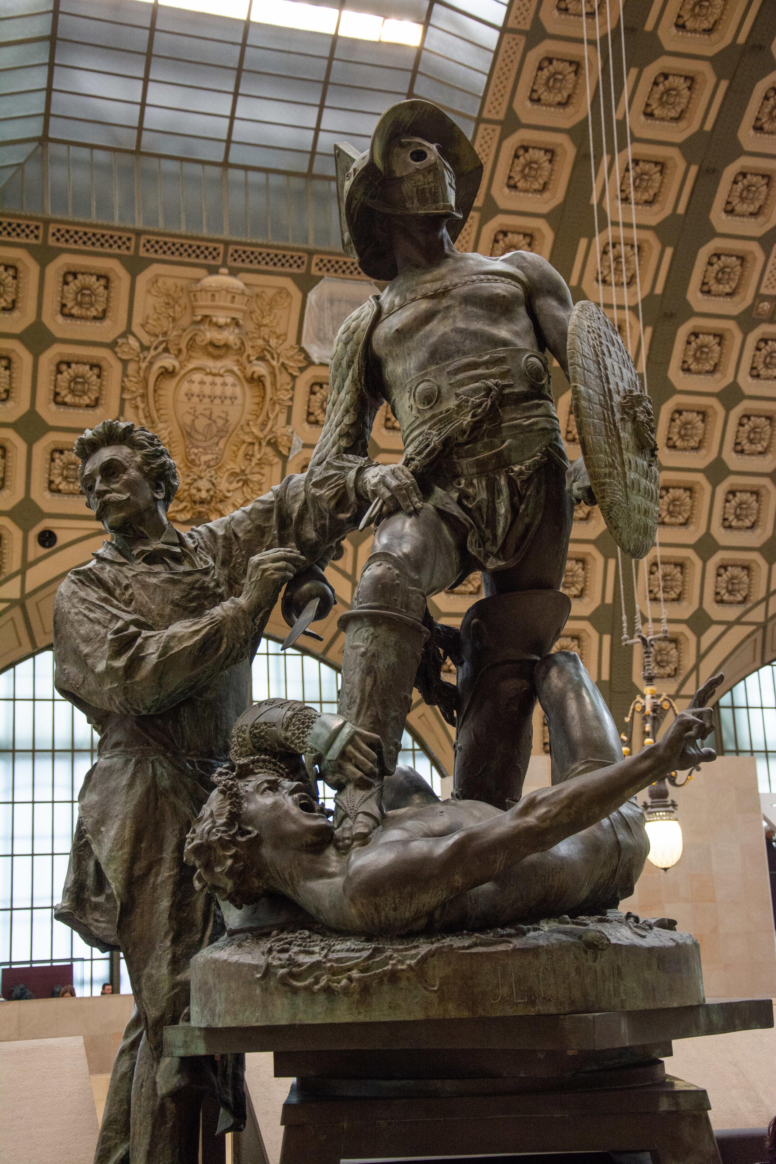 Gérôme Executing The Gladiators
