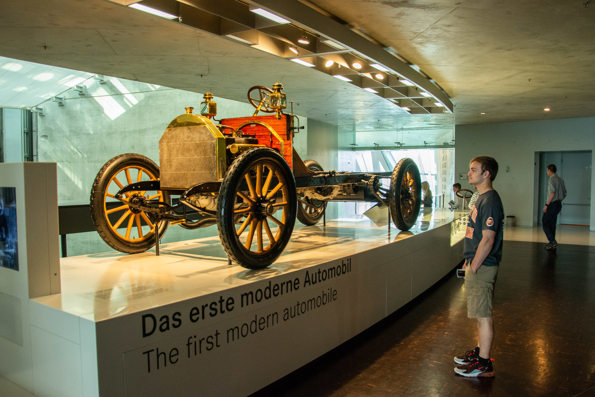 The First Modern Automobile